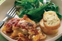 baked-ziti-garli-bread-and-salad