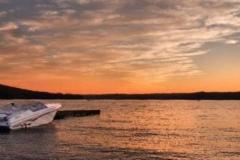Lake-Wallenpaupack-Yacht-Club-sunset-fast-boat-Slide