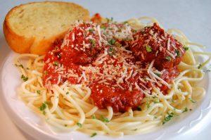spaghetti n meatball